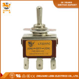 Lema Lt221FC Double Pole Quick Terminal Toggle Switch
