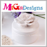 Creative China Manufacture Colored Ceramic Jewelry Box