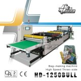 High Speed Three-Side Bag-Making Machine (Three-side-seal, Standing pouchand zipper bag) HD-1250bull