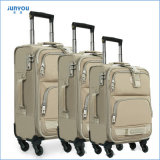 Good Quality Waterproof 24′′ Soft Nylon Trolley Luggage