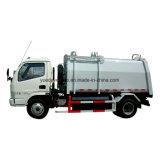 Gas Side Loading Garbage Truck