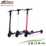 Aluminium Alloy 2 Wheels Folding Electric Skateboard with LCD Screen