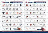 Chain Saw Spare Parts/ Cylinder Assembly/Carburetor/Starter/Clutch/Guide Bar/Chain