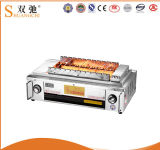 Hot Sale Automatic Stainless Steel Smokeless BBQ Gas Grill