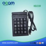 Kb20r POS Micro USB Mini Programmable Magnetic Keyboard