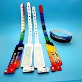 Amusement park waterproof MIFARE Ultralight EV1 disposable RFID wrist band