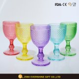 Promotional Party Hand Blown Red Wine Glass Made in China