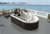 Special Shape 4-6 Person Massage Whirlpool Bathtub with TV