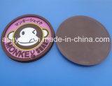 Cup Coaster Made of Soft PVC (ASNY-CC-LE-0412003)