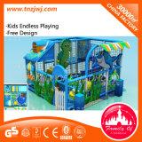 Ocean Theme Soft Playground Galvanized Pipe Indoor Playground Equipment