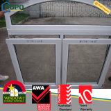 Economical Cost UPVC Windows with Top Fixed Arch Window Design