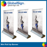 Portable Aluminum Mini Table Roll up Banner Stand for Display