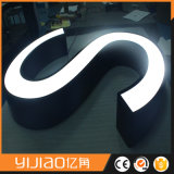 Light-Emitting Stainless Frame Frontlit Signboard Design