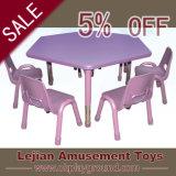 New Design Amusement Kids Plastic School Table (Z1287-4)