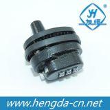 Plastic 3 Digital Combination Gun Trigger Lock (YH1902)