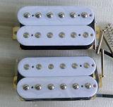 Guitar Parts OEM White AlNiCo 2 Humbucker Guitar Pickup