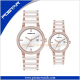 Fashion Newest Unisex Sport Quartz Watch with Ceramic Band