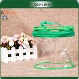 PVC Transparent Clear Cylinder Cosmetics Bag