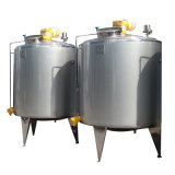 Food Sanitary Stainless Steel 2000L Jacketed Heating Tank