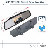 Caredrive Rearview Mirror Car Monitor with 7 TFT LCD
