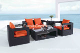 Rattan Garden Furniture/Outdoor Wicker Sofa Set/Kd Rattan Wicker Sofa