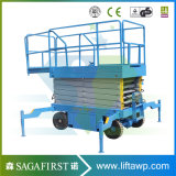 Sinofirst Hot Sale Good Quality 5-14m Mobile Electric Scissor Lift
