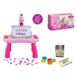 Educational Electric Kids Drawing Learning Table with Projectior (10254383)