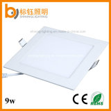 Square 9W SMD Slim LED Panel Light Ceiling Home Down Indoor Lamp Lighting