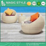 High Quality Weaving Daybed Patio Wicker Daybed Leisure Sun Bed (Magic Style)