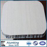 Wooden Veneer Aluminum Honeycomb Composite Panel