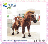 Cool Realistic Rocking War Horse Soft Baby Toys