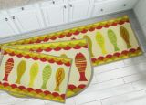 Wholesale Decorative Non-Slip Custom Kitchen Mat