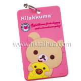 Popular Logo Printed Promotional Luggage Tag With THX-017