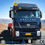 6X4 380HP Hongyan Genlyon Rhd Iveco Tractor Truck with C9 Engine