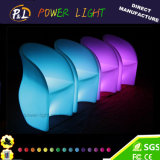 Glowing Comfortable Single LED Bar Furniture LED Bar Stool