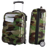 ABS+PC Military Luggage Case for Travel