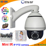 2.0 Megapxiel Mini IP High Speed Dome PTZ Camera