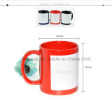 Freesub Square Patch Coated Sublimation Mug & Cup (SKB07)