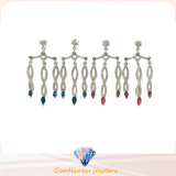 2017 Wholesale White Gold Plated Silver 925 Earring