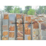 Natural Stone Cheap Rusty Slate Tiles for Flooring