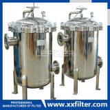 Stainless Steel Bag Filter Housing for Industrial Water Filtration