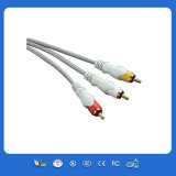 3.5mm Male Plug to 2 RCA Audio Cable