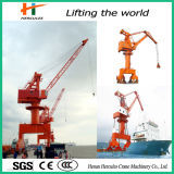 Electric Pedestal Hydraulic Port Marine Crane