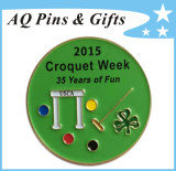 Year Recognition Pin Metal Badge for Croquet Week (badge-120)
