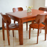 Solid Wooden Dining Table Living Room Furniture (M-X2889)