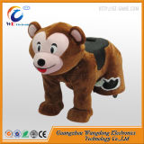 Funny Game! Ride on Furry Animals in Shopping Mall