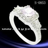 Fashion Jewelry 925 Sterling Silver Mciro Setting Ring