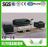 Of14 High Quality PU Living Room Sofa Lattice Durable Office Furniture Sofa