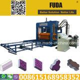 Qt10-15 Automatic Cement Brick Making Machine Sales in Africa