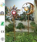 Iron Metal Craft with Solar Garden Light Outdoor Lighting